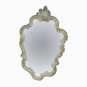 Venetian Murano Glass Mirror, 1930s