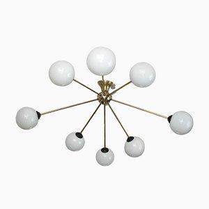 Lámpara de araña moderna, años 60