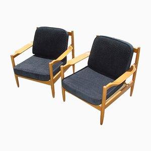 Moderne Armlehnstühle, 1970er, 2er Set