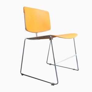 Vintage Side Chair by Max Stacker for Steelcase, 1970s