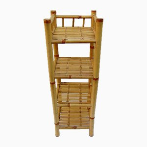Vintage Bamboo Flower Stand