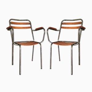 T2 Stühle von Xavier Pauchard für Tolix, 1950er, 2er Set