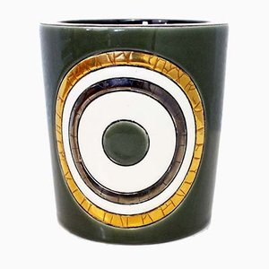 Pot Vintage en Céramique de Longwy, 1980s
