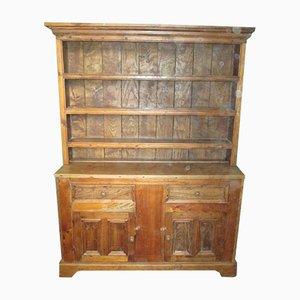 Antiker englischer Schrank aus Ulmenholz