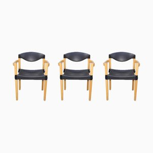 Stackable Strax Armchairs by Hartmut Lohmeyer for Casala, 1980s, Set of 3