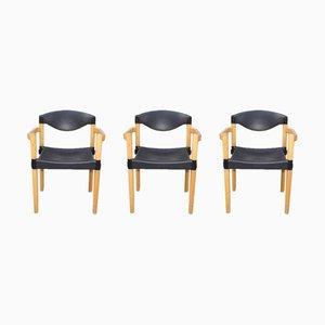 Stapelbare Strax Sessel von Hartmut Lohmeyer für Casala, 1980er, 3er Set