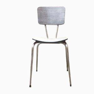 Vintage Stuhl aus Formica in Grau, 1970er