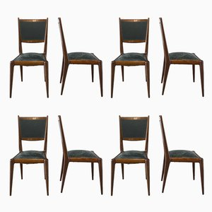 Mid-Century Dining Chairs, Set of 8