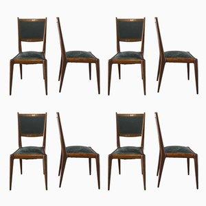 Mid-Century Esszimmerstühle, 8er Set