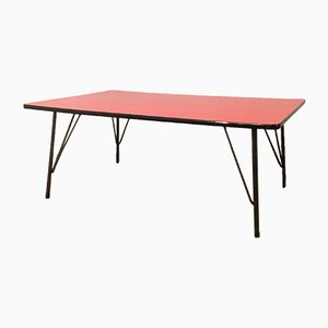 Vintage Industrial Table by Rudolf Wolf for Elsrijk