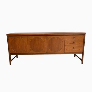 Vintage Teak Circle Sideboard from Nathan, 1960s
