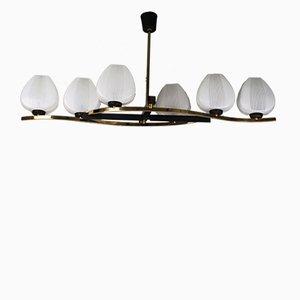 Lámpara de araña vintage de Maison Arlus