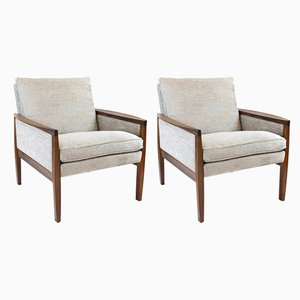 Vintage Rio Rosewood Armchairs by Hans Olsen, Set of 2