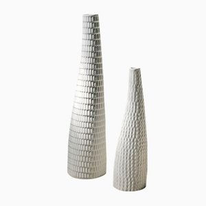 Ceramic Reptil Vases by Stig Lindberg for Gustavsberg, 1953, Set of 2