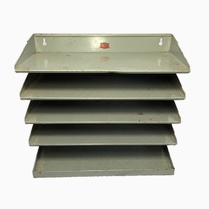 Industrial Veteran Series Office Paper Filing Shelf, 1950s