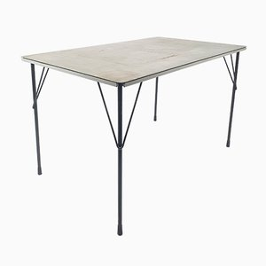 Mid-Century Dutch Table by Wim Rietveld for Gispen, 1950s