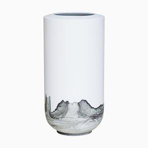 Tide Vase ind Schwarz von Anna Badur