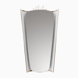 Backlit Mirror by Ernest Igl for Hillebrand Lighting, 1950s