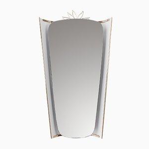 Specchio retroilluminato di Ernest Igl per Hillebrand Lighting, anni '50