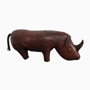 Vintage Rhinoceros Footstool by Dimitri Omersa for Omersa Co.