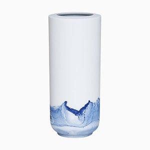 Vaso Tide blu di Anna Badur