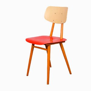 Mid-Century Wooden Side Chair from TON, 1960s