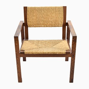 Wenge Executive Chair by Hein Stolle for 't Spectrum, 1960s