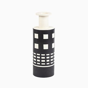 Vintage Ceramic Vase by Ettore Sottsass for Bitossi, 1980s