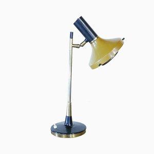 Italienische Tischlampe aus Aluminium von Oscar Torlasco für Lumi, 1950er