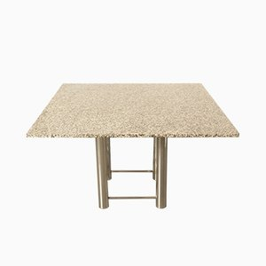 Italian Modern Granite Dining Table, 1980s