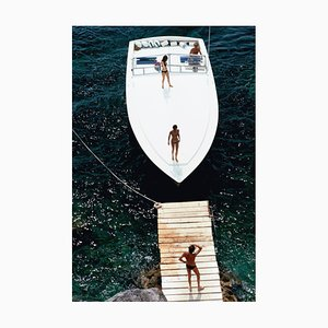 Stampa Speedboat Landing di Slim Aarons