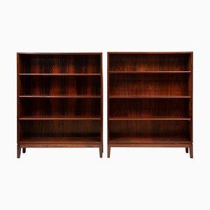 Librerie in palissandro di Illums Bolighus, anni '60, set di 2