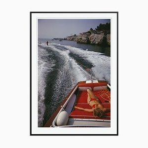 Imprimé Leisure In Antibes par Slim Aarons