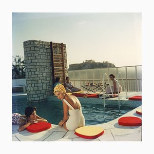 Penthouse Pool by Slim Aarons