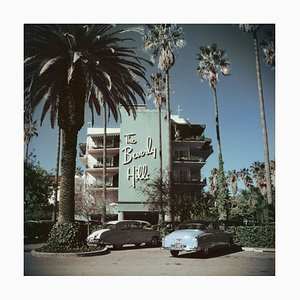 Beverly Hills Hotel Print by Slim Aarons