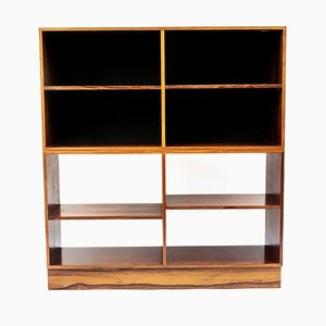 Scandinavian Rosewood 2-Part Shelving Unit, 1960s