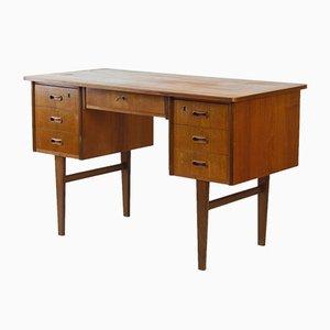 Dänischer Mid-Century Schreibtisch aus Teak & Furnier, 1960er