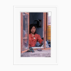 China Girl Print by Alain Le Garsmeur