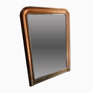 Specchio Luigi Filippo antico dorato, Francia