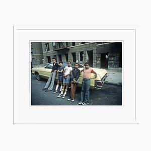 Bronx Teenagers Print by Alain Le Garsmeur