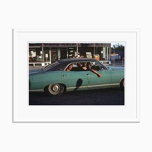 Downtown Las Vegas Print by Alain Le Garsmeur