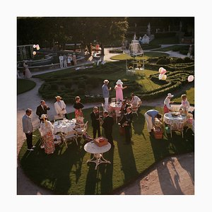 Garden Party Print by Slim Aarons