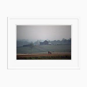 Early Morning Ride Print by Alain Le Garsmeur