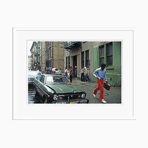 Harlem Rain Print by Alain Le Garsmeur