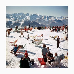 Verbier Vacation Print by Slim Aarons