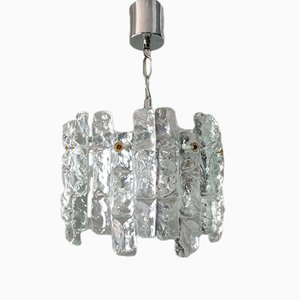 Crystal and Metal Chandelier by J. T. Kalmar for Kalmar, 1960s