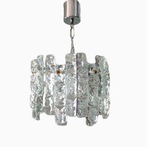Kronleuchter aus Kristallglas und Metall von JT Kalmar für Kalmar, 1960er