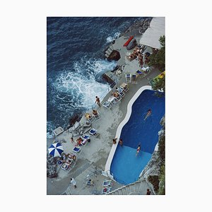 Pool On Amalfi Coast Print by Slim Aarons