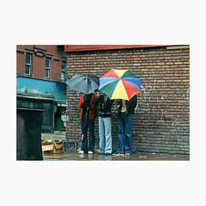 Harlem Regenschirme Druck von Alain Le Garsmeur