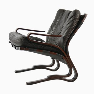Kengu Lounge Chair by Elsa Solheim for Rybo Rykken & Co, 1970s